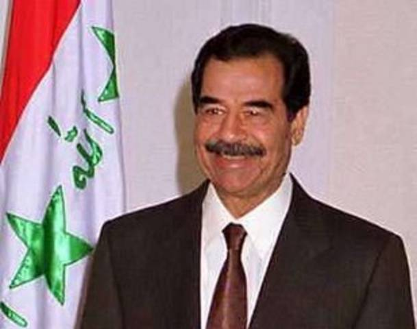 I said I'm the president of Iraq... I di by Saddam Hussein ... Saddam Hussein