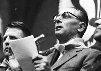 Enrico Mattei saltò in aria con il suo aereo il 27 ottobre del 1962, poche ore prima tenne un discorso memorabile a Gagliano Castelferrato (Enna), ... - mattei-enrico-324